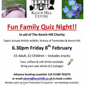 Kench Hill Family Quiz