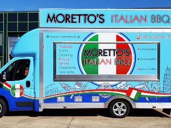 Morettos Italian BBQ food truck Tenterden
