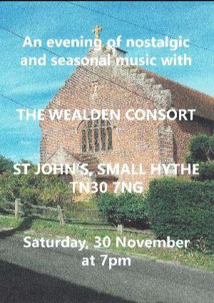 The Wealden Consort Choir at Smallhythe Church