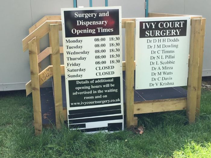 Ivy Court Surgery relocation