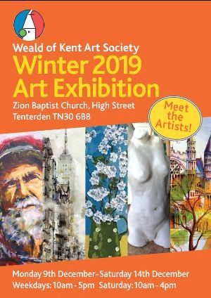 Weald of Kent Art Society - Winter Exhibition