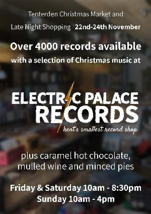 Electric Palace Records at the Christmas Market