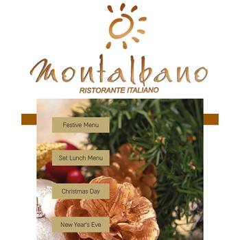 Christmas at Montalbano Italian Restaurant