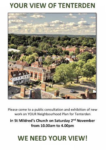 Public Consultation & Exhibition, Tenterden Neighbourhood Plan