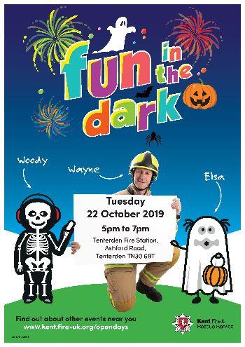 Fun in the Dark at Tenterden Fire Station