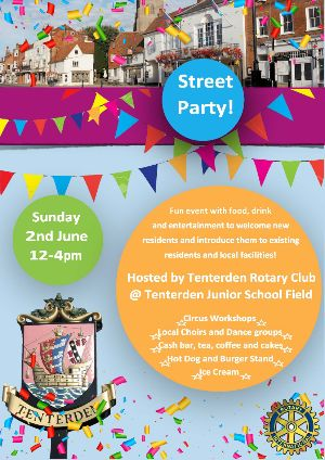 Tenterden Rotary Club Street Party