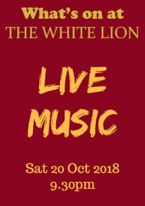 Live music The White Lion Hotel