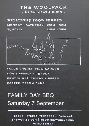 Family Day BBQ The Woolpack