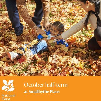 Halloween themed crafts at Smallhythe Place