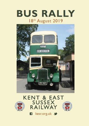 Bus Rally Tenterden Town Station