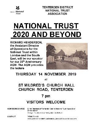 Tenterden District National Trust lecture