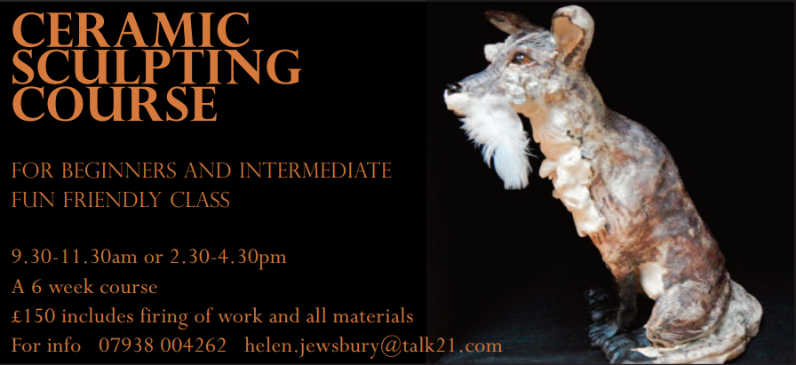 Helen Jewsbury Sculpting course
