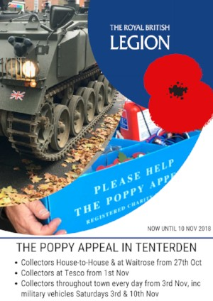 The Poppy Appeal in Tenterden