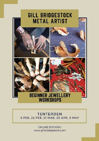 Beginner Jewellery Workshops | Gill Bridgestock