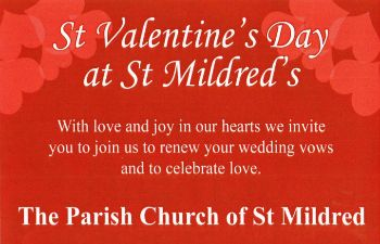 Valentines St Mildreds Church