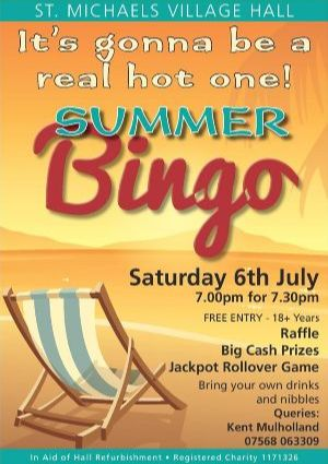 Summer Bigno St Michaels Village Hall