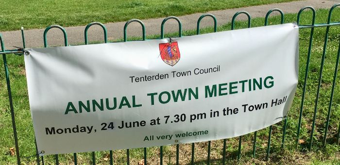 Annual Town Meeting - Tenterden Town Hall