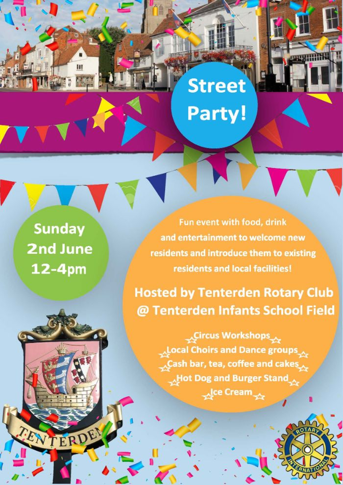 Tenterden Rotary Street Party