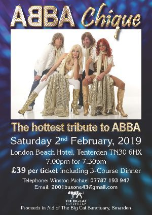 ABBA Tribute Show and Meal