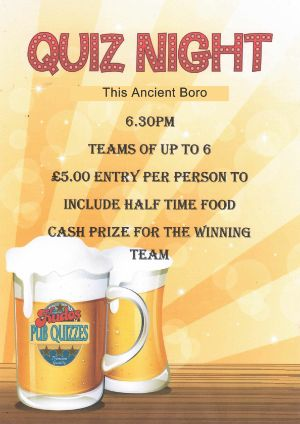 Pub Quiz Ancient Boro