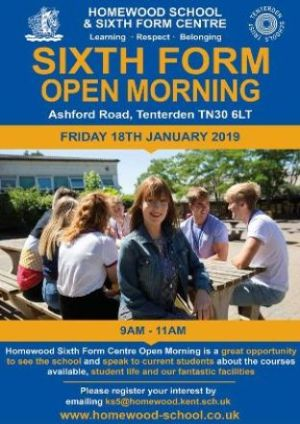 Sixth Form Open Morning Homewood