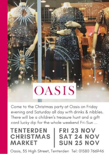 Christmas Party Oasis Tenterden