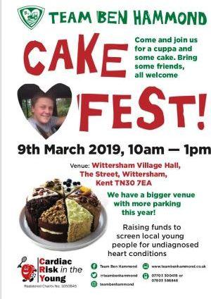 Team Ben Hammond Cake Fest