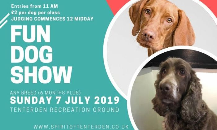 Spirit of Tenterden Dog Show