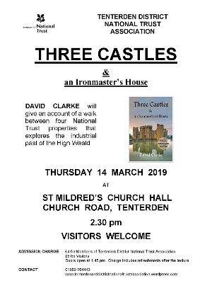 National Trust lecture Three Castles