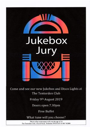 Jukebox Jury at The Tenterden Club