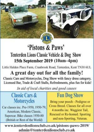 Classic Car Show and Dog Show
