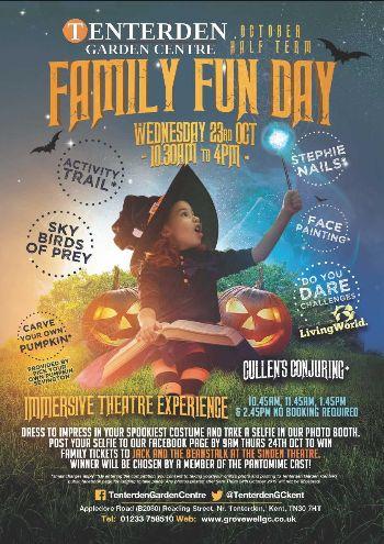 Halloween Family Fun Day at Tenterden Garden Centre