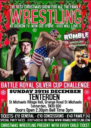 Wrestling St Michaels Village Hall