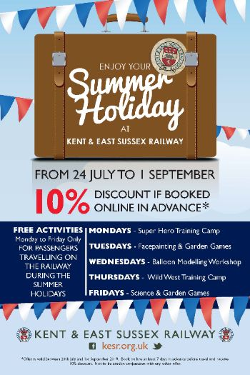 Summer Holiday Tenterden Town Station