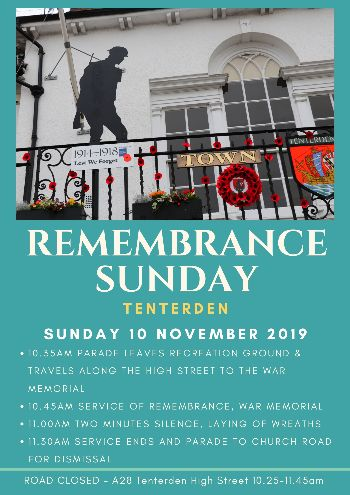 Parade and Service of Remembrance in Tenterden