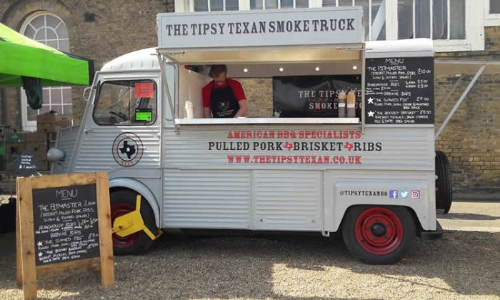Tipsy Texan Smoke Truck at Spirit