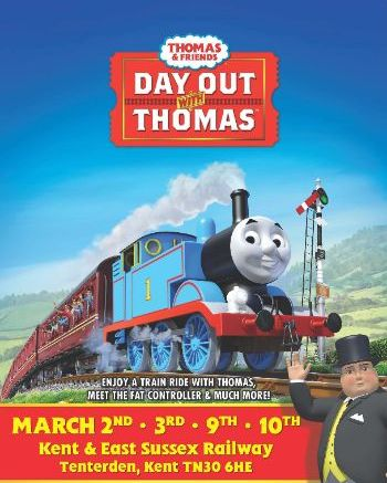 Day out with Thomas March 2019