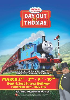 Day out With Thomas Tenterden Town Station