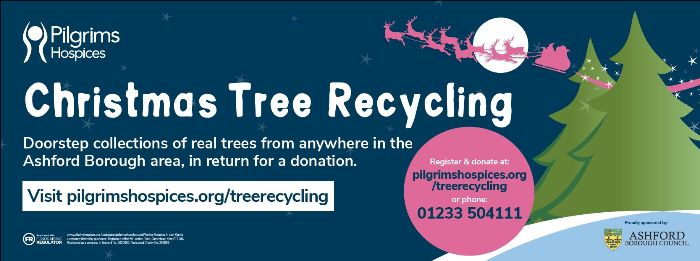 Christmas Tree Recycling Pilgrims Hospice