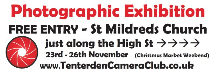 Photographic Exhibition St Mildreds Church