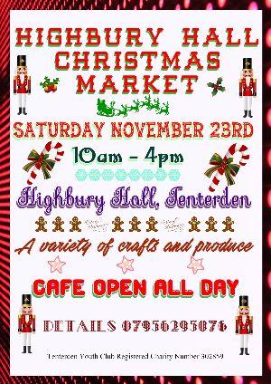 Highbury Hall Christmas Market