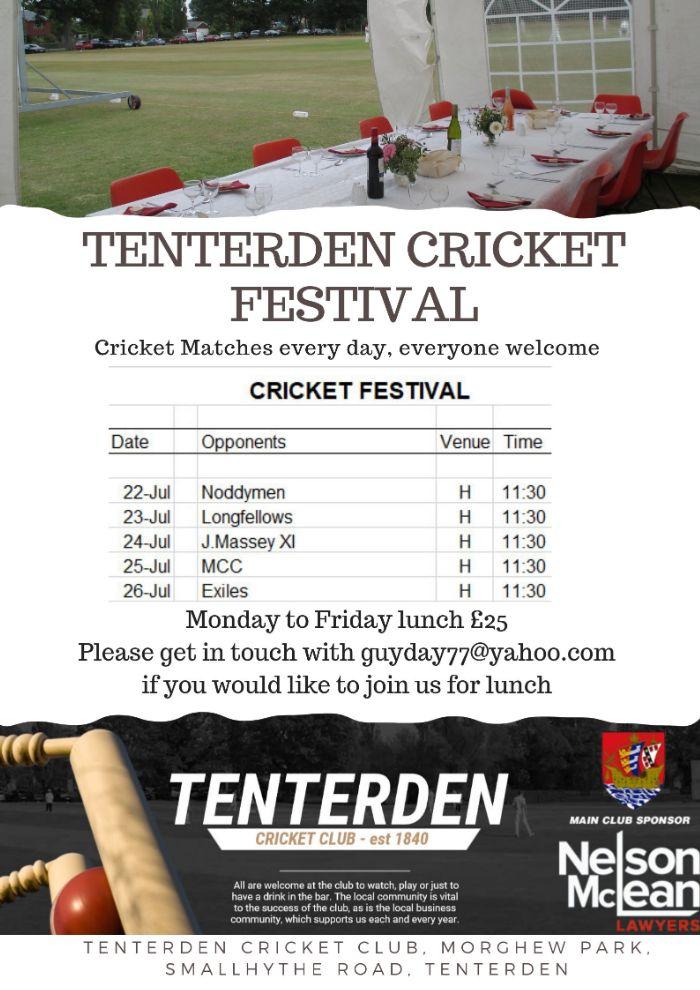 Tenterden Cricket Week