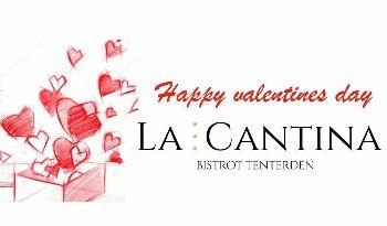 Valentines menu La Cantina Italian Restaurant