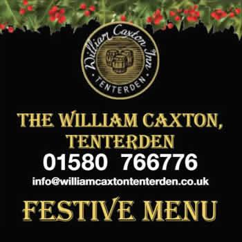 Festive Menu William Caxton