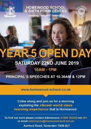 Homewood Year 5 Open Day