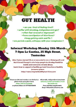 Gut Health Workshop Tenterden