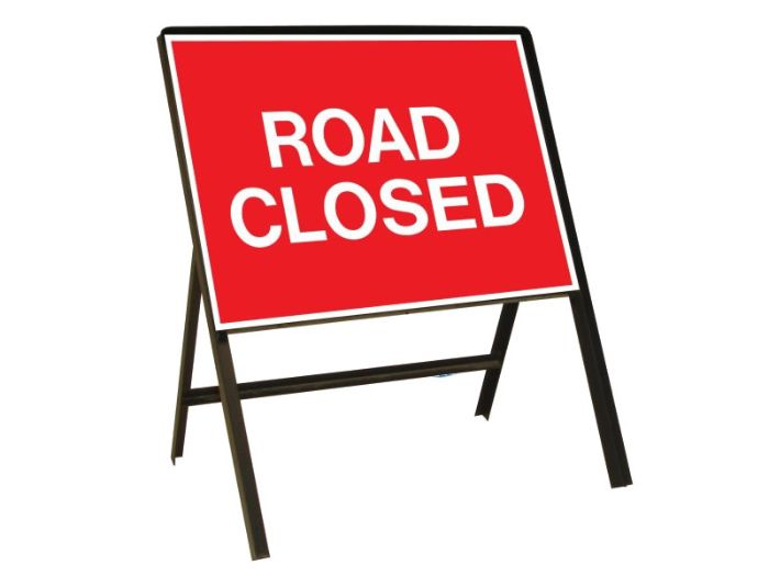 A28 Road closed