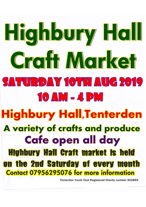 Craft Market Highbury Hall
