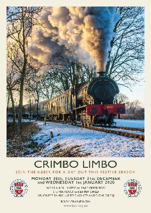 Steam trains from Tenterden Town Station - Crimbo Limbo