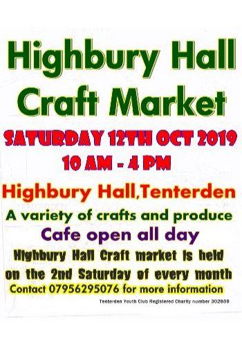 Highbury Hall Craft Fair